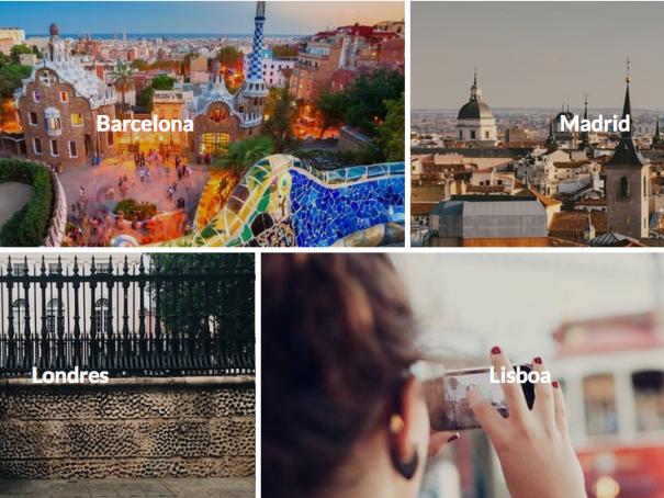 Más de 3000 actividades por toda Europa