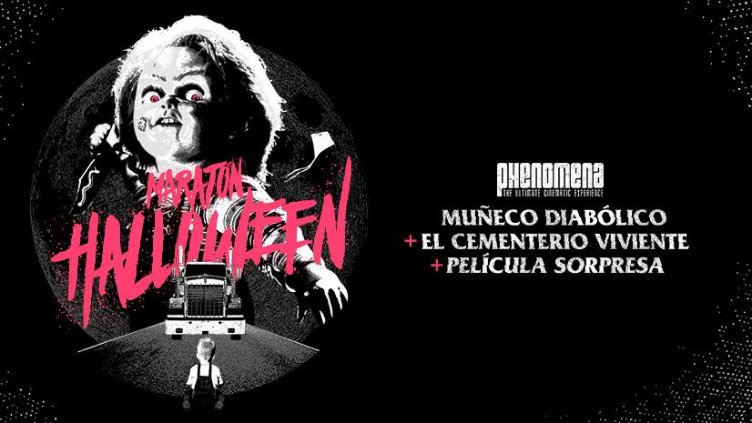 Maraton Cine Phenomena Noche de Halloween
