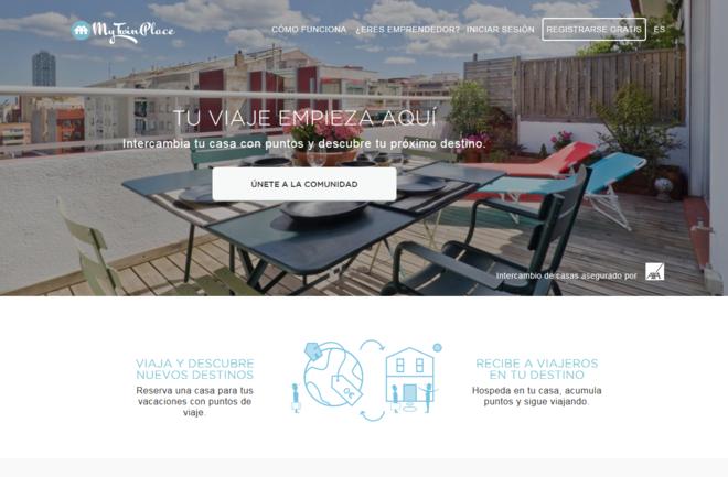 Intercambiar casa MyTwinPlace Imagen Plataforma