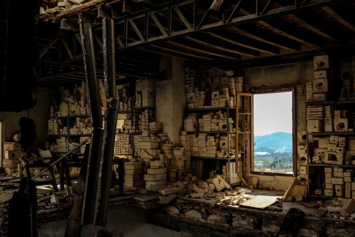Fabrica de muñecas abandonada - Castellon escapada puente de diciembre